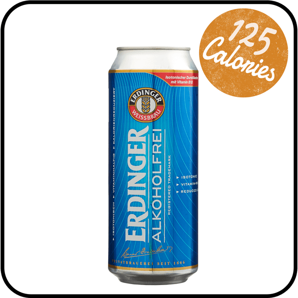 Erdinger Alkoholfrei Wheat Beer Dry Drinker alcohol free wheat beer
