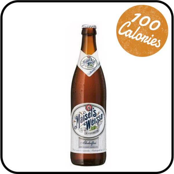 Maisel's Weisse Wheat Beer alcohol free Dry Drinker