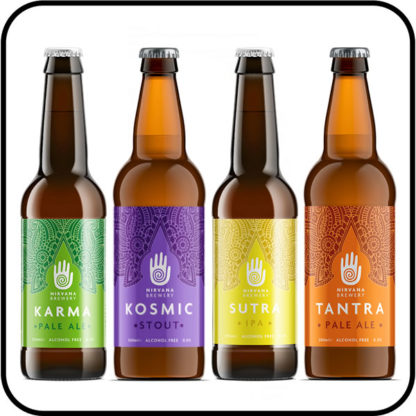 Nirvana Craft Beer Collection exclusive Dry Drinker alcohol free