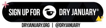 Sign up for Dry January logo Dry Drinker