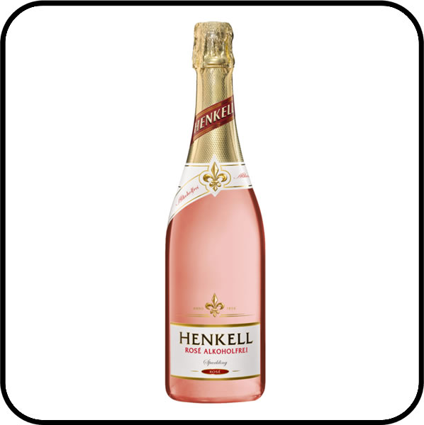 Henkell Alcohol Free Rose Sparkling Wine Dry Drinker