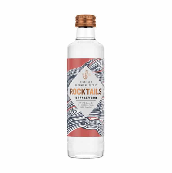 Rocktails Orangewood Distilled Botanical Blend Dry Drinker