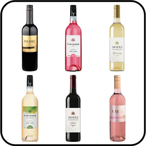 Alcohol Free Wine Six Pack Dry Drinker