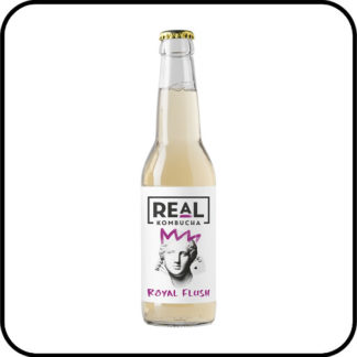 Real Kombucha Royal Flush