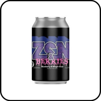 Nirvana Zen & Berries Alcohol Free Beer Dry Drinker