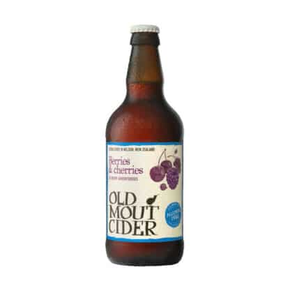 Old Mout Berries & Cherries Alcohol Free Cider Dry Drinker