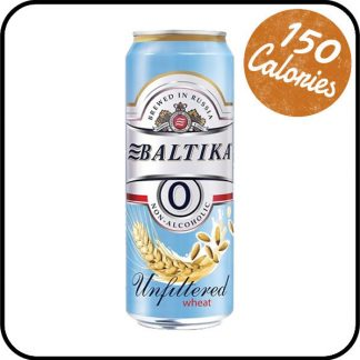 Baltika alcohol free wheat beer