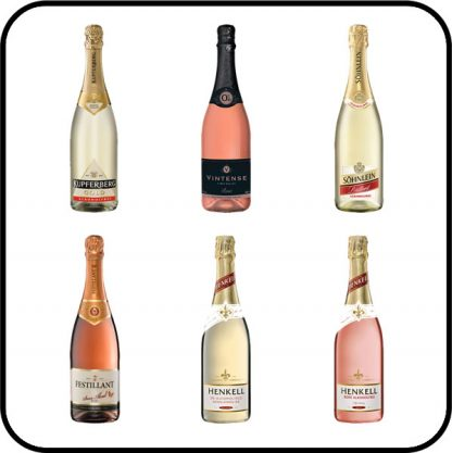 Big Fizz Alcohol Free Sparkling Wine Collection Buy online from Dry Drinker