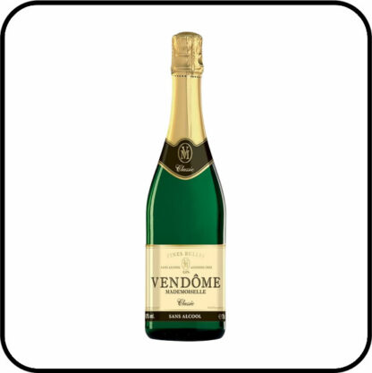 Vendôme Mademoiselle Classic Organic Alcohol Free Sparkling Wine Dry Drinker