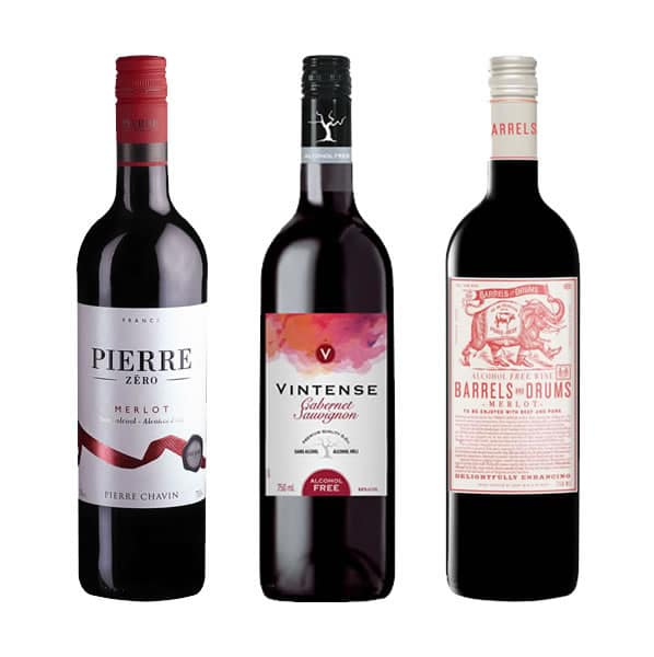 alcohol free red wines mixed pack