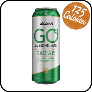 Aldaris Go Low Alcohol Lager