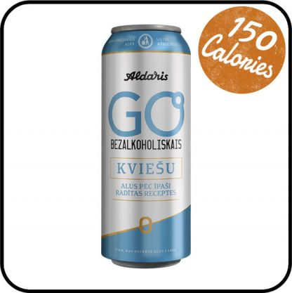 Aldaris Go Low Alcohol Wheat Beer