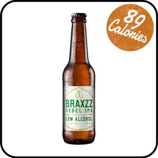 Braxzz Rebel IPA Low Alcohol