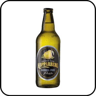 Kopparberg alcohol free pear cider Dry Drinker