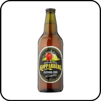 Kopparberg Alcohol Free Strawberry & Lime Cider has a refreshing summer taste.