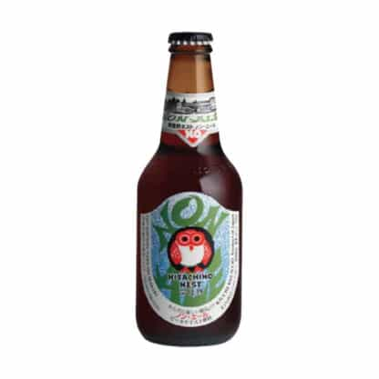 A bottle of Hitachino Nest Non Ale non alcoholic beer on sale from Dry Drinker