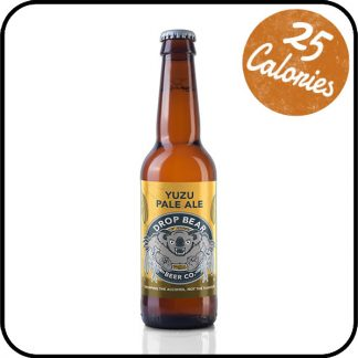 Bottle of Drop Bear Yuzu Pale Ale on sale by Dry Drinker, the UK's most trusted alcohol-free store