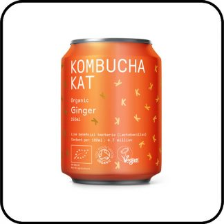 Kombucha Kat Ginger Buy online from Dry Drinker