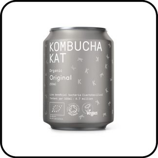 Kombucha Kat Original - organic for the purist from Dry Drinker