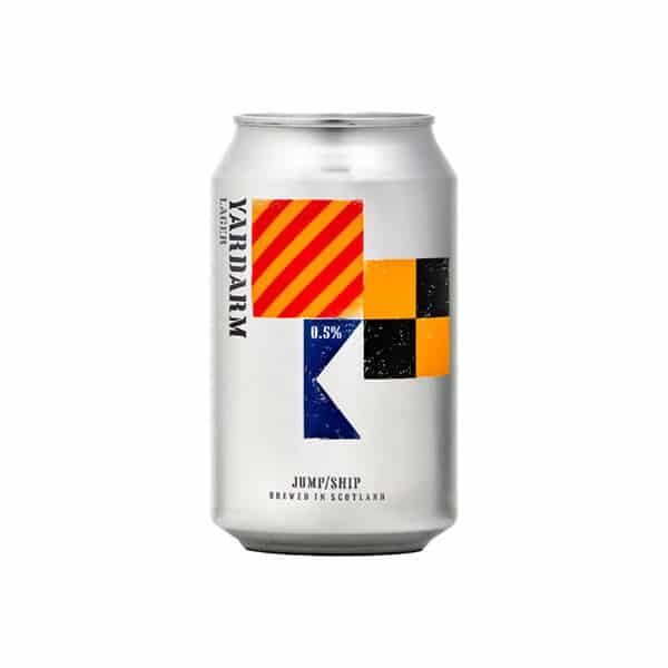 Can of Jump Ship Yardarm Lager