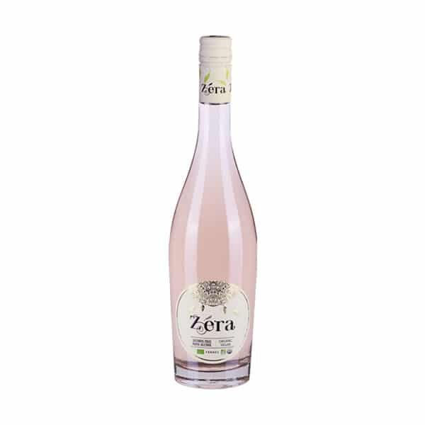 Bottle of Zera Cabernet Rose 0%