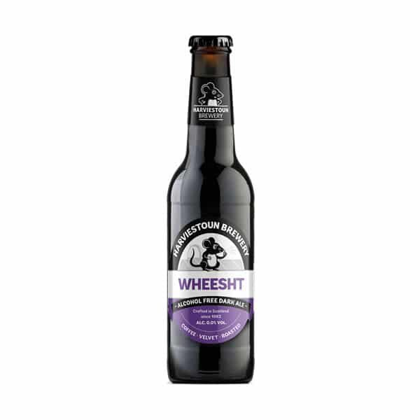 Bottle of Wheesht Dark Ale 0% Dry Drinker