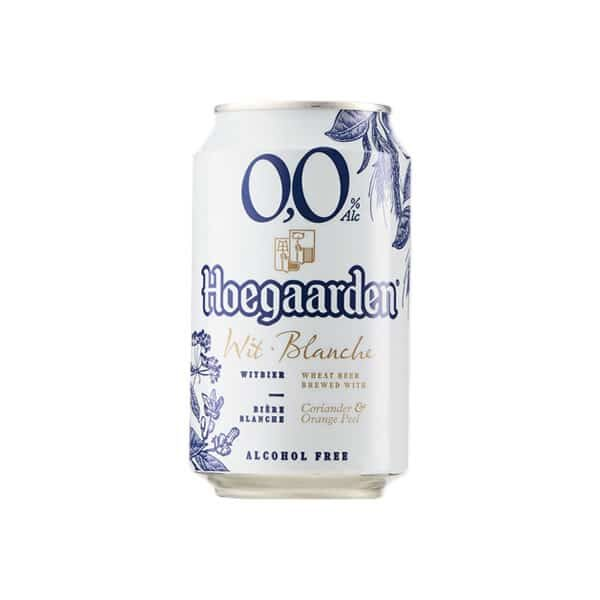 Hoegaarden Belgian Beer 0.0% Buy online from Dry Drinker.