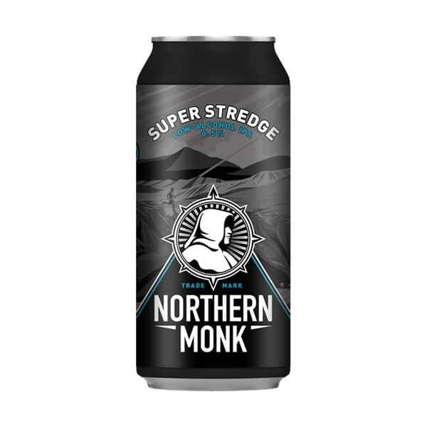 Northern Monk Super Stredge IPA 0.5% Buy online from Dry Drinker.