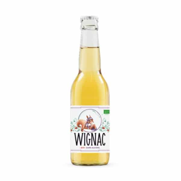 Wignac La Lady Squirrel alcohol free cider